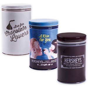 Hershey's Kisses Collectible Stoneware Canisters